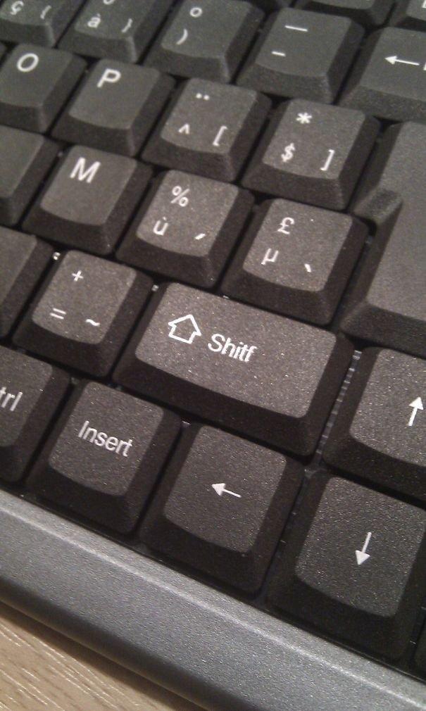 This Shitf Key