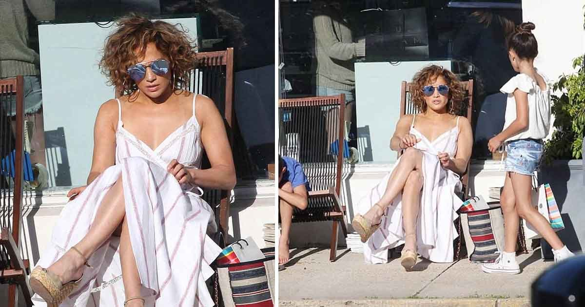 jr.jpg?resize=636,358 - J-lo Spotted Embracing Tousled Curls As She Holidays With Beau Alex Rodriquez And Their Children In The Hamptons
