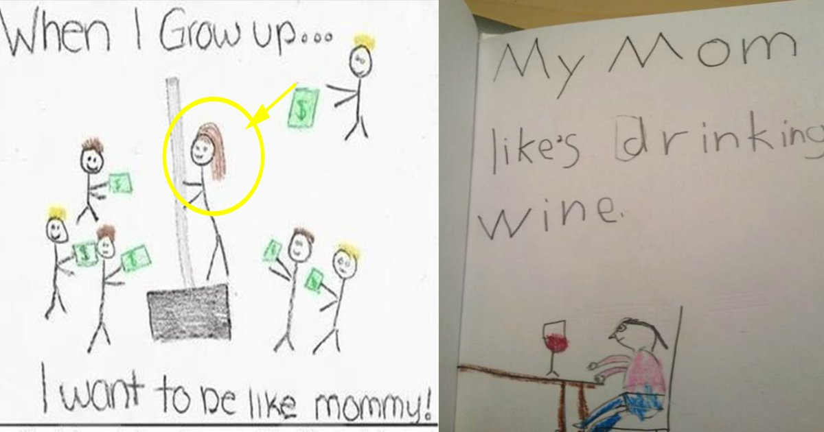 kids.jpg?resize=1200,630 - 10 Kid's Drawings That Their Moms Won't be Hanging on the Fridge