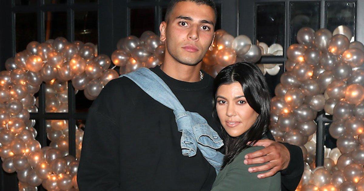 """kourtney kardashian younes.jpg?resize=300,169 - Le petit ami de Kourtney Kardashian, Younes Bendjima, lui demande  de se couvrir sur ses """"photos des médias sociaux"""""""
