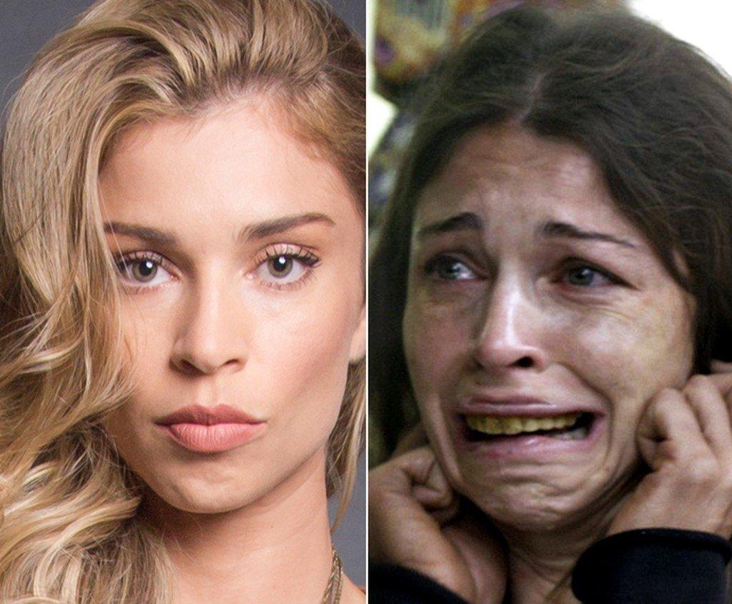 larissa antes e depois.jpg?resize=412,275 - 10 famosos que mudaram completamente sua aparência para personagens do cinema e televisão