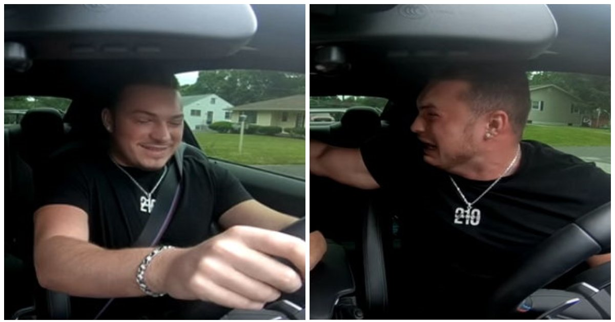 layout 2018 7 9 1 1.jpg?resize=574,582 - Man Tries To Prank His Grandmother While Driving And Gets A Taste Of His Own Medicine