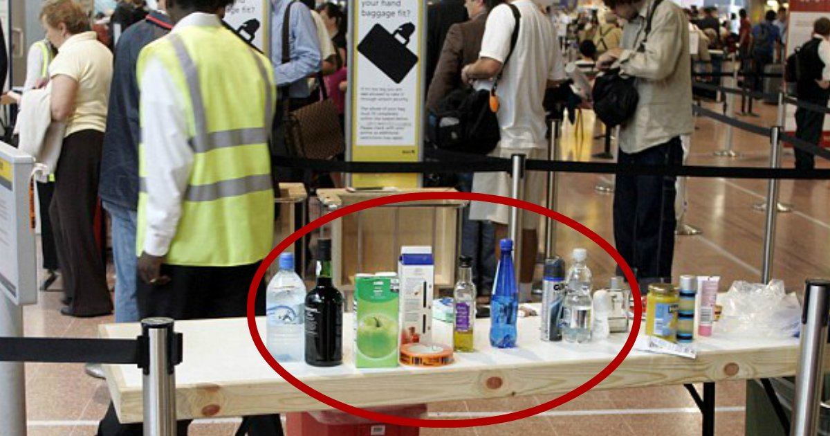 liquid bottles.jpg?resize=636,358 - New Airport Scanners May Finally End The Strict Rules On Bringing Liquid Bottles Which Frustrated Passengers For 12 Years