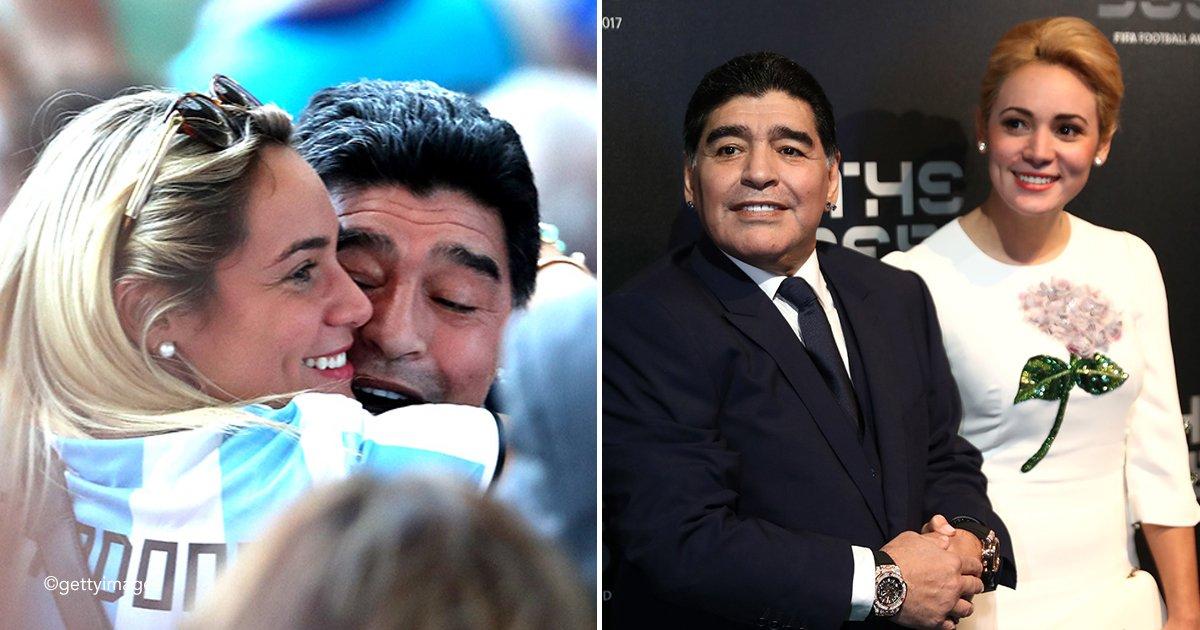 maradona.jpg?resize=300,169 - Diego Maradona le propuso matrimonio a su novia de 29 años menor que él