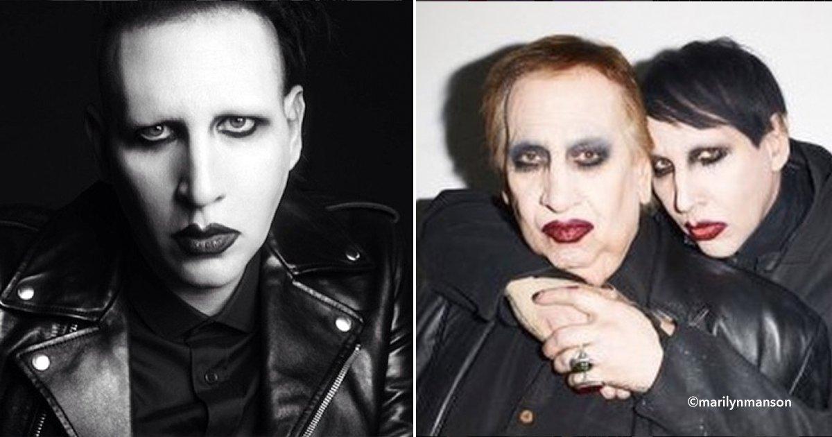 maruylen.jpg?resize=648,365 - Marilyn Manson por el amor que tiene a su difunto padre, comparte en su Twitter una emotiva publicación