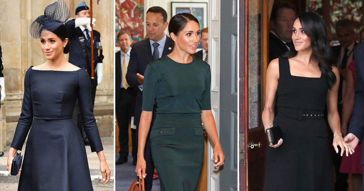 meghan markle harry ireland.jpg?resize=636,358 - Meghan Markle Had Three Outfit Changes In One Day And She Rocked All Three Looks