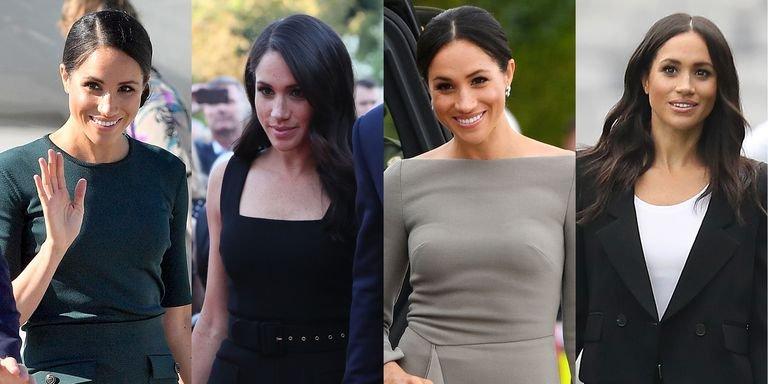 meghan markle ireland outfits gettyimages 995390104 1531341577.jpg?resize=300,169 - El outfit millonario de la duquesa de Sussex: mira cuánto costaron estos cuatro vestidos de Meghan Markle