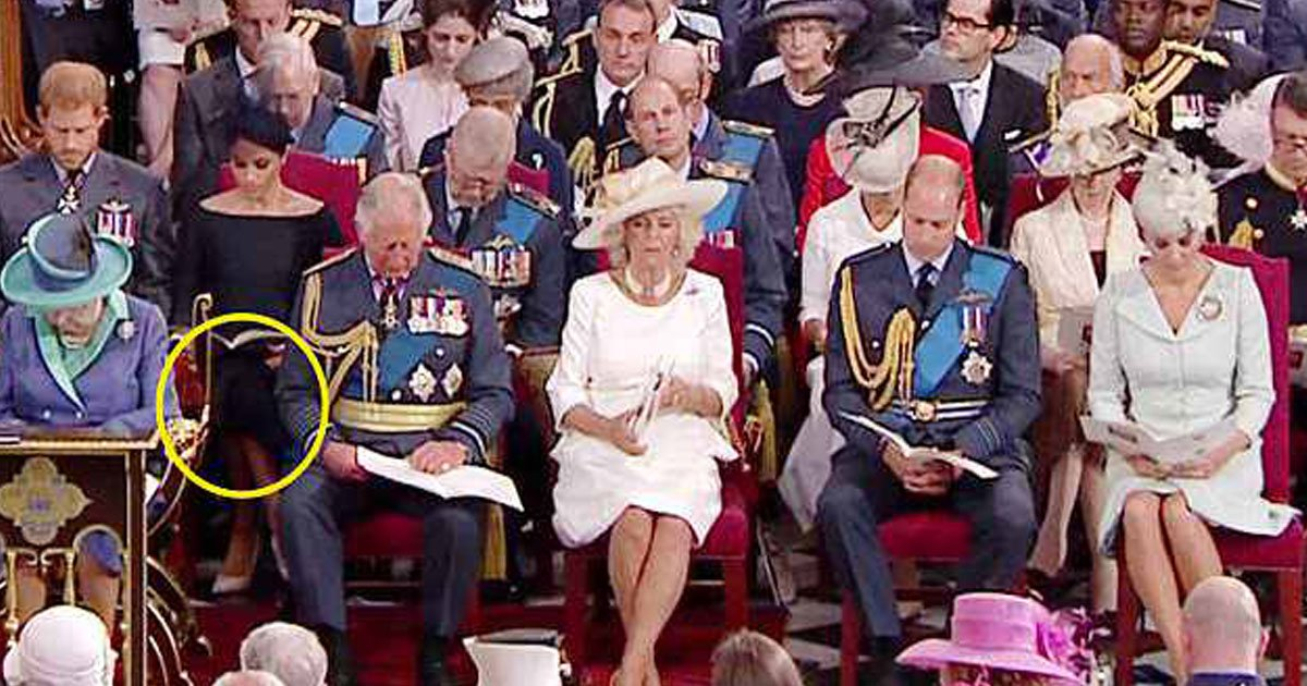 meghan markle legs cross raf.jpg?resize=648,365 - Meghan Markle Again Sits With Her Legs Crossed, Experts Refer To It As 'The Sussex Sit'