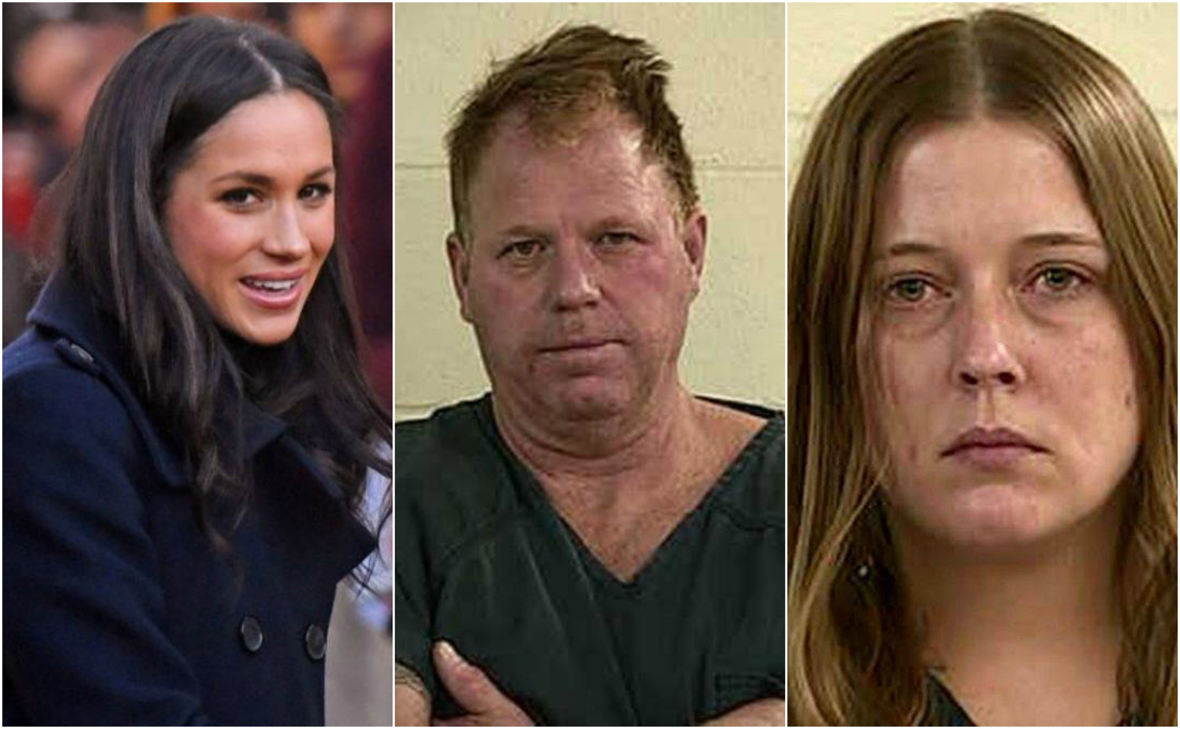 meghan markle thomas markle jr e darlene blount.jpg?resize=300,169 - ¡Metieron presa a la cuñada de Meghan Markle por violencia doméstica!