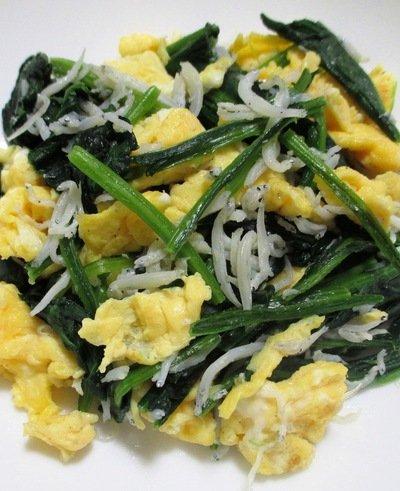ほうれん草・卵・しらすの副菜에 대한 이미지 검색결과