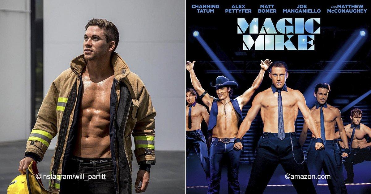 """mike.jpg?resize=300,169 - Es idéntico a Channing Tatum, tiene el mismo espectáculo que él y es considerado el """"Magic Mike"""" de la vida real"""