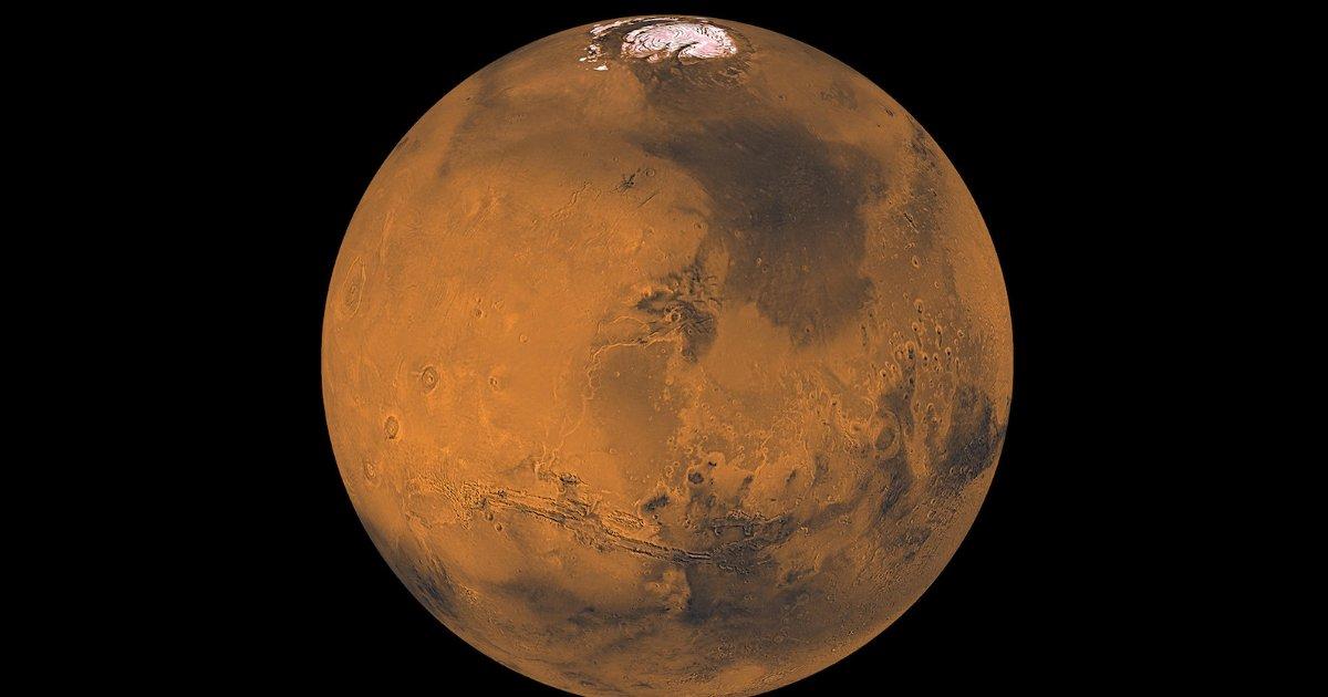 nasa marte.png?resize=1200,630 - Cientistas encontram água líquida em Marte