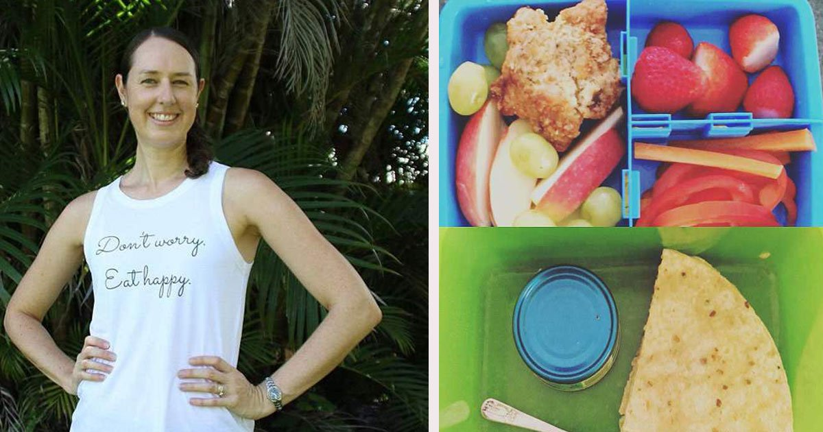 natalie thompson dietician school food shaming 6.jpg?resize=1200,630 - Dietitian Mother Accused Her Son's School Of 'Lunch Shaming'