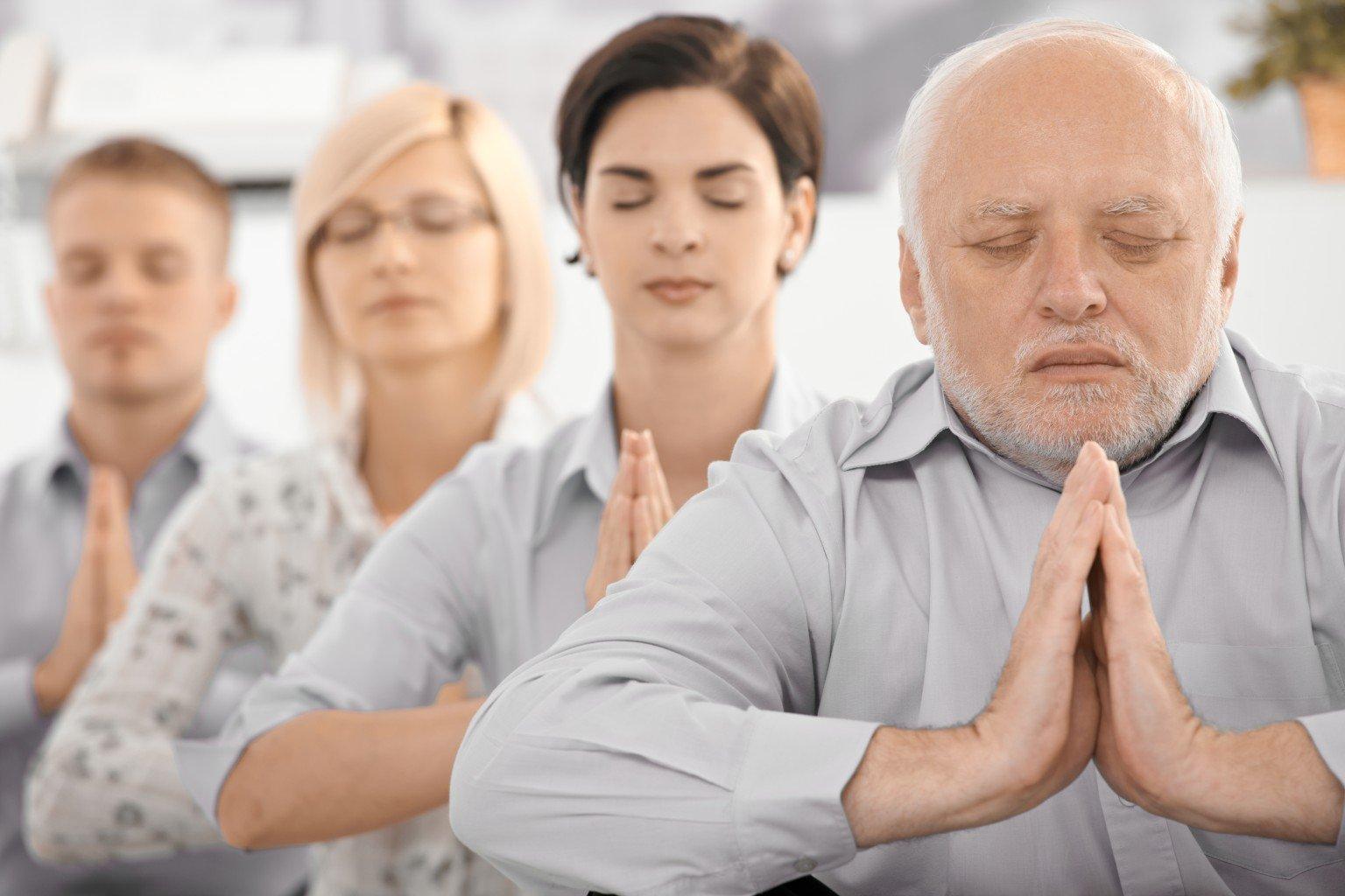 o people meditating facebook.jpg?resize=1200,630 - Aprenda a se manter calmo durante um conflito: 5 dicas
