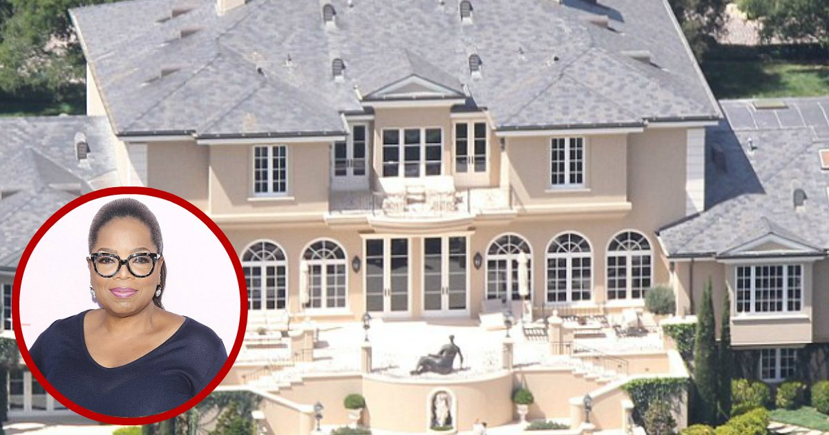 oprah house.jpg?resize=412,232 - Oprah Winfrey Shares What Her Greatest Pleasure Is: Sitting On The Porch Of Her $90M Mansion