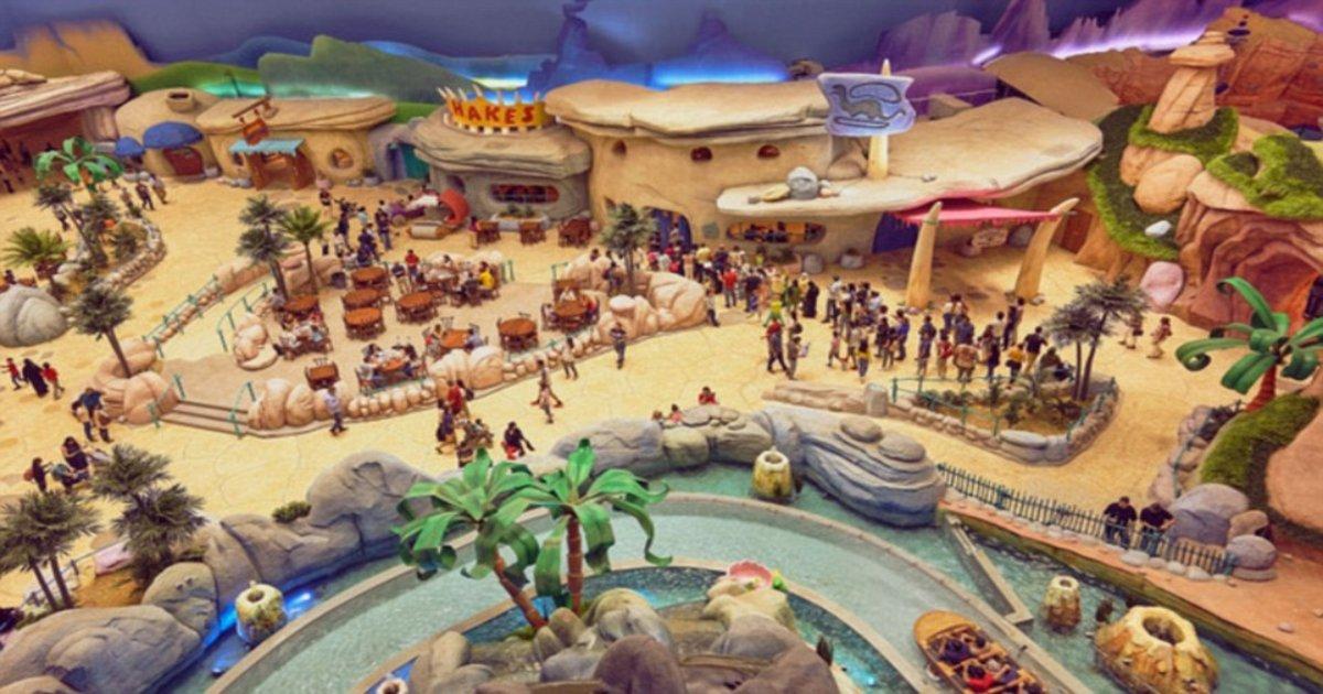 p 1.jpg?resize=412,232 - Le plus grand parc à thème couvert du monde, 'Warner Bros World', coûte 1 milliard de dollars et est maintenant ouvert à Abou Dhabi
