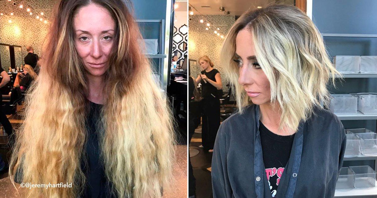 pelo.jpg?resize=648,365 - Una mujer que no se ha cortado su cabello en 30 años fue completamente transformada para su boda