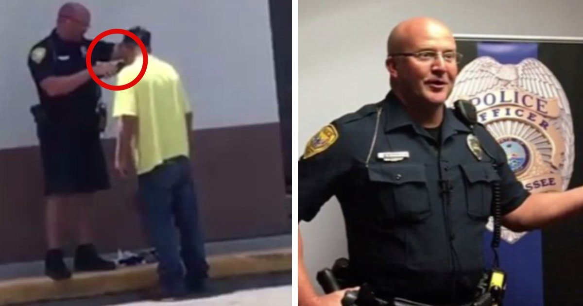 pic copy 2 33 1.jpg?resize=636,358 - Officer Helps Homeless Man Shave And Get In Shape For McDonald's Interview