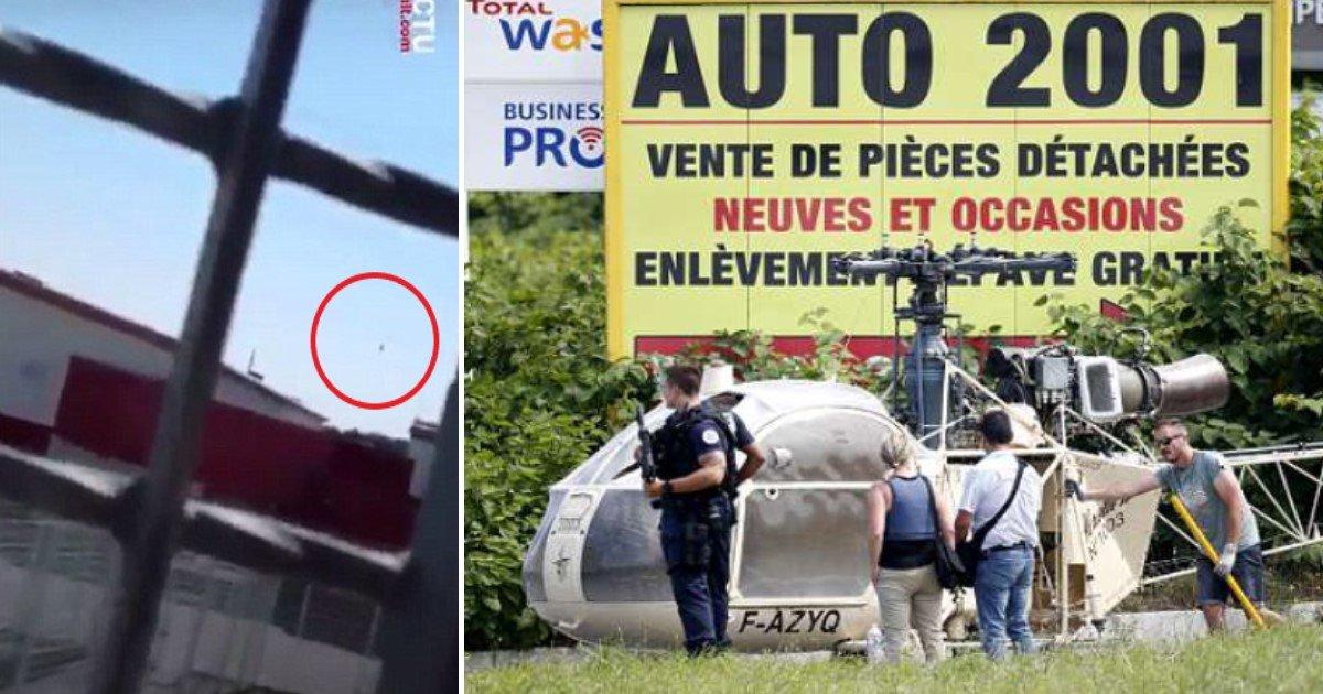 pic copy.jpg?resize=412,232 - Le gangster français Redoine Faid s'échappe de prison dans un hélicoptère détourné