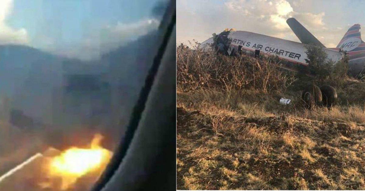 plane crash.jpg?resize=1200,630 - Des séquences vidéo de l'intérieur d'un avion filment le moment où il a été englouti par les flammes et s'est écrasé au sol
