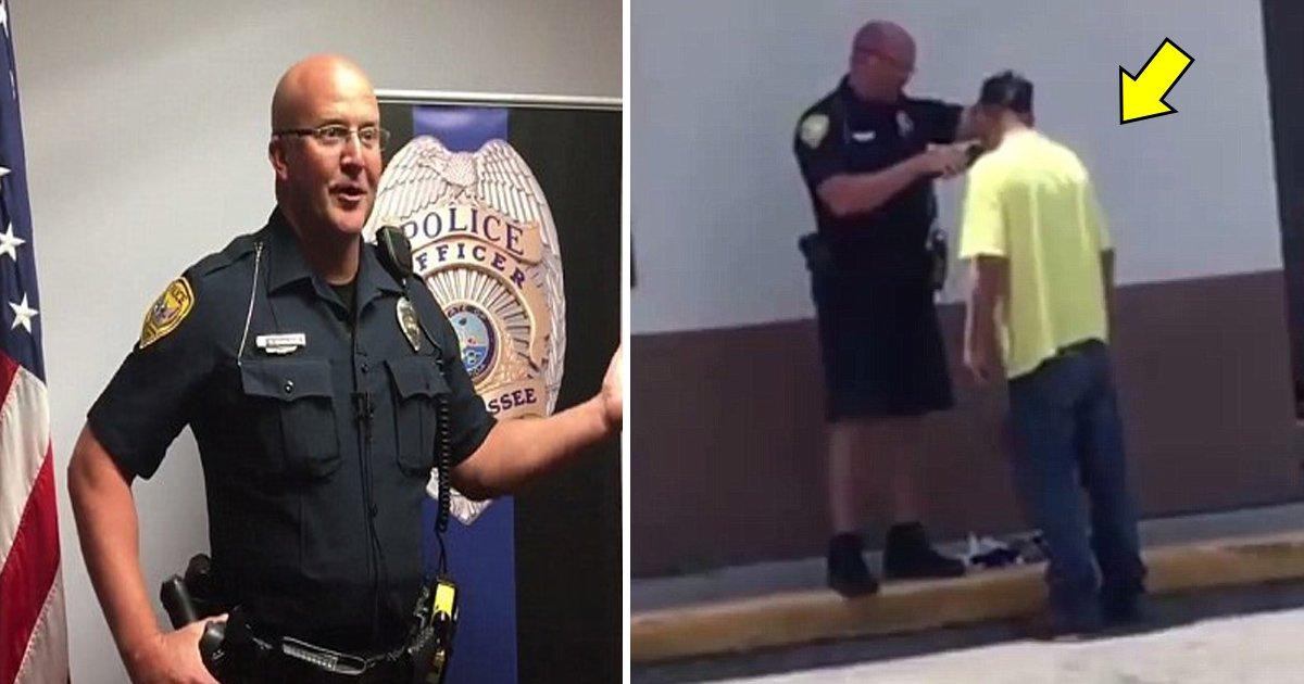 police 1.jpg?resize=300,169 - La gentillesse d'un policier s'est retrouvée en vidéo sur Internet et est devenue virale