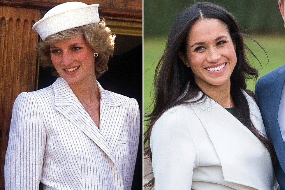 princess diana meghan marklee.jpg?resize=1200,630 - A regra que Meghan Markle precisa seguir quando está com a rainha - e que era muito difícil para Diana