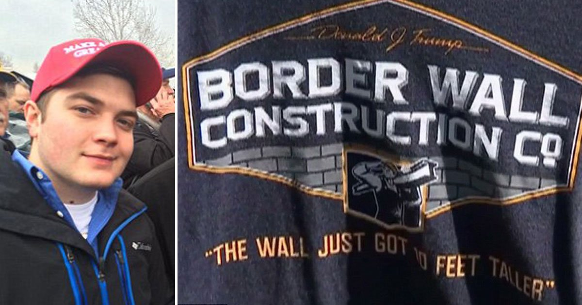 pro trump shirt.jpg?resize=636,358 - High School Student Suspended For Wearing Pro-Trump Shirt, Won $25,000 Settlement And A Written Apology