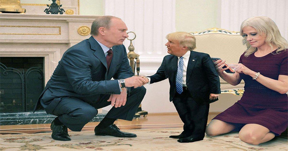 putin trump helsinki meeting funny reactions coverimage3.jpg?resize=412,275 - Top 25 Most Brutal Memes Trolling Trump After His 'Disgraceful Performance' When Meeting Putin