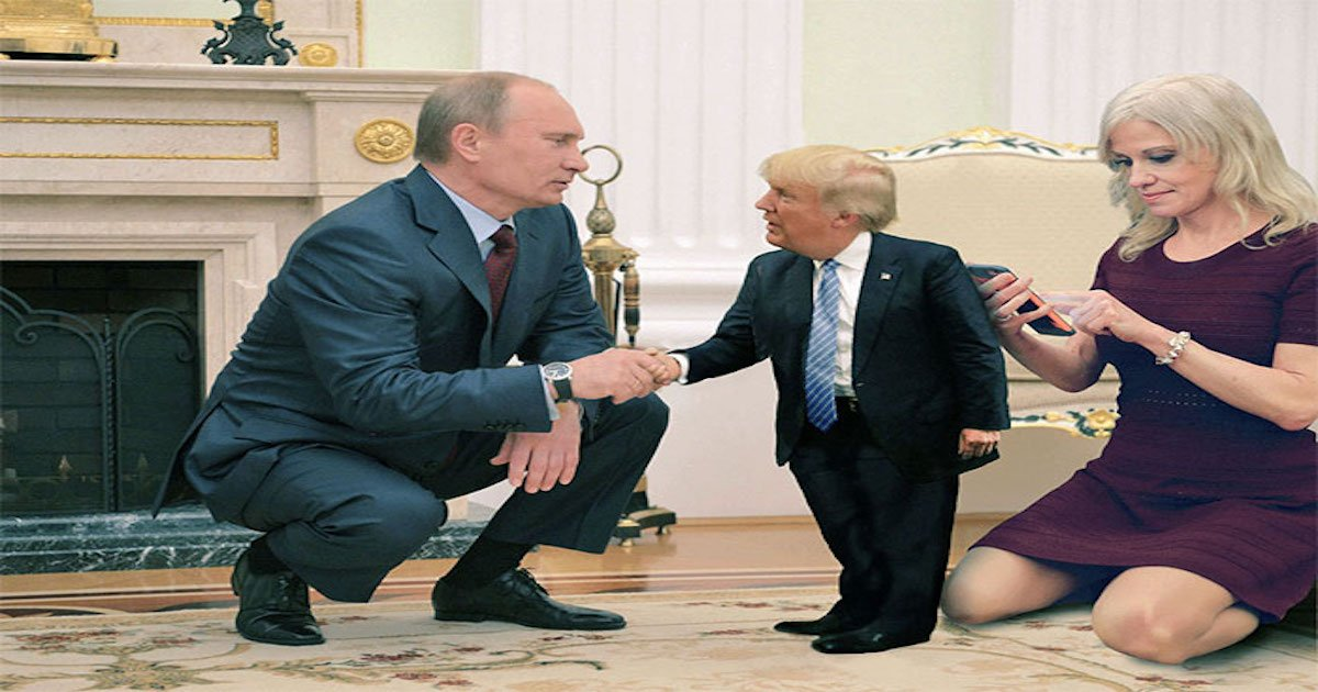 putin trump helsinki meeting funny reactions coverimage3.jpg?resize=636,358 - Top 25 Most Brutal Memes Trolling Trump After His 'Disgraceful Performance' When Meeting Putin