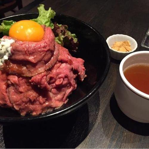 三軒茶屋】ステーキハウスO.K ローストビーフ丼에 대한 이미지 검색결과