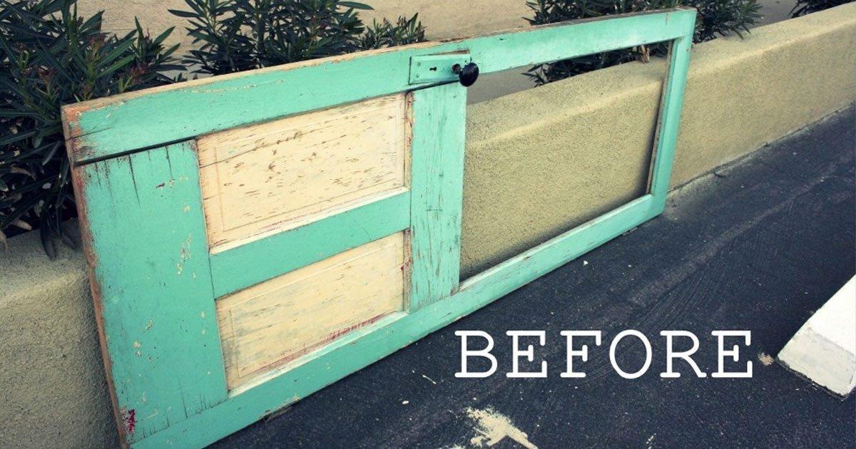 repurpose old door featured.jpg?resize=412,275 - Top 11 Creative Ways To Repurpose Old Doors