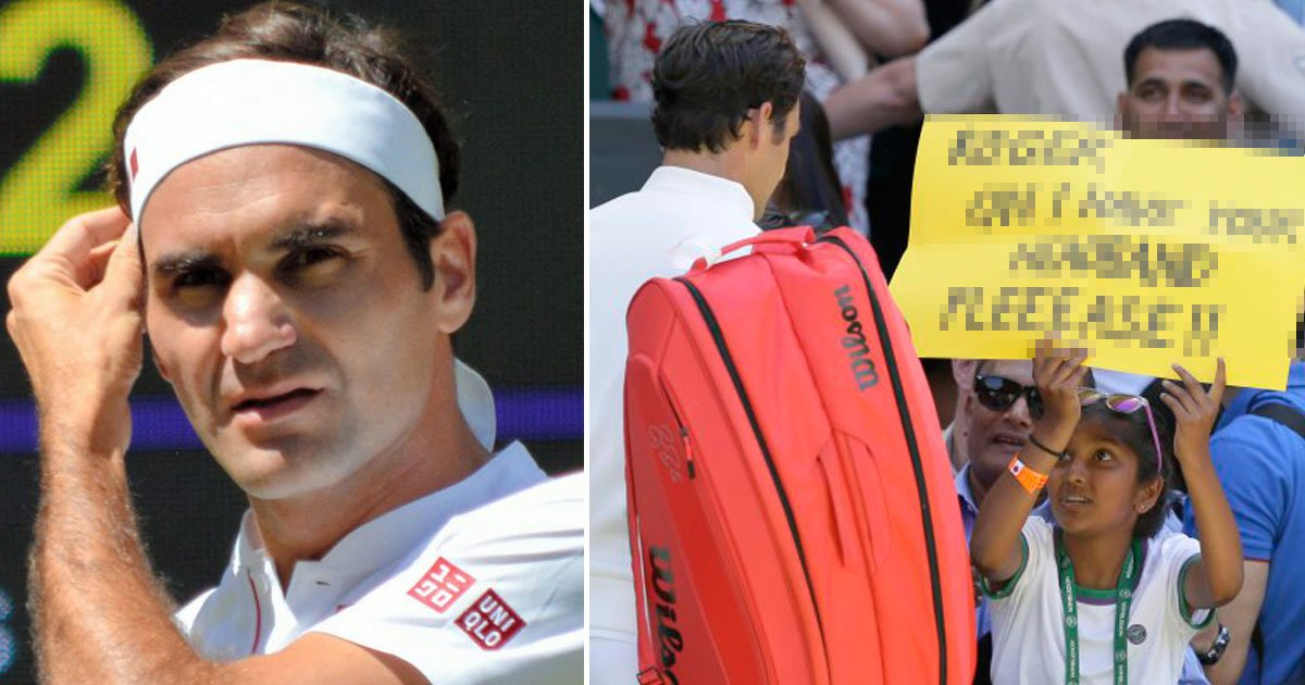 roger federer surprised a young fan with a sweet gift after his wimbledon win.jpg?resize=1200,630 - Roger Federer Surprised A Young Fan With A Sweet Gift After His Wimbledon Win