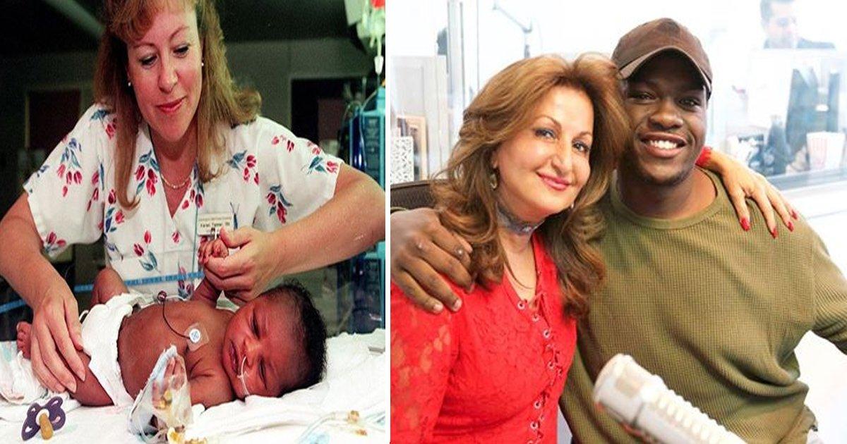 sdfsss.jpg?resize=412,232 - C'est l'heure des retrouvailles pour cette femme et l'homme qu'elle a sauvé lorsqu'il était bébé