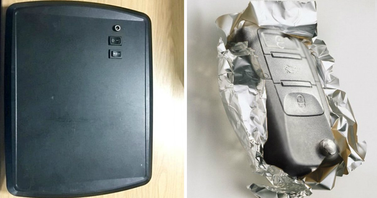 signal theft.jpg?resize=636,358 - Security Experts Advise To Wrap Your Car Key Fob In Tinfoil To Prevent Thieves From Hijacking Signal