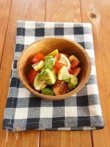 アボカドとトマトの爽やかはちみつレモンサラダ에 대한 이미지 검색결과