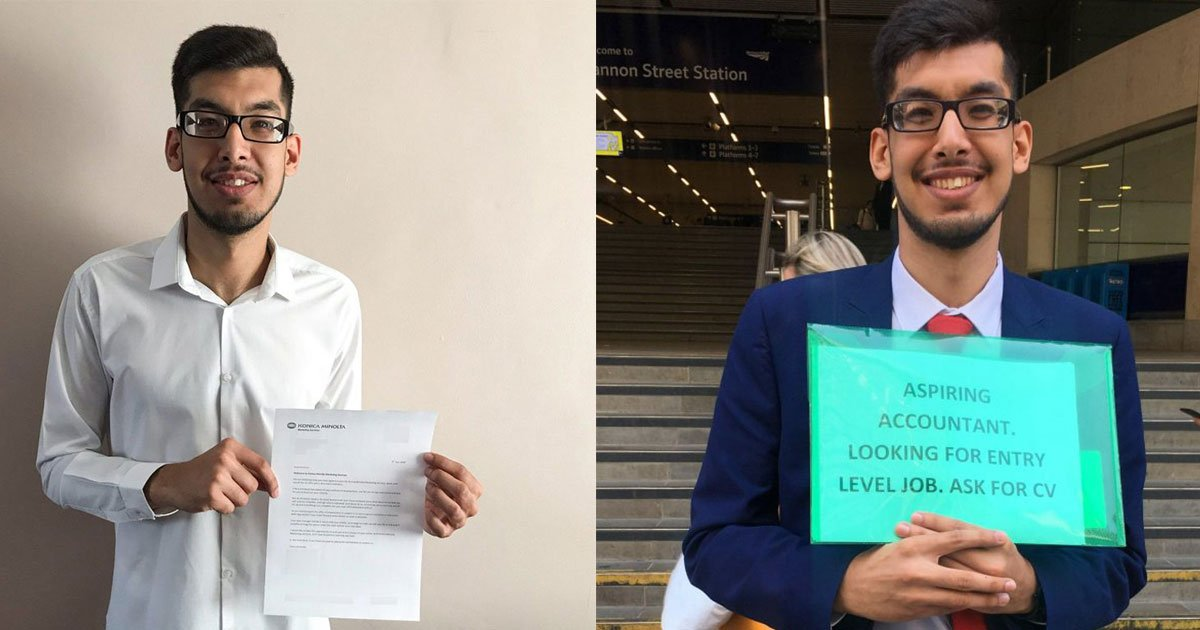 student didnt get a single response after applying for 100 jobs online what he did next changed his life.jpg?resize=648,365 - Student Didn't Get A Single Response After Applying For More Than 100 Jobs Online—What He Did Next Changed His Life