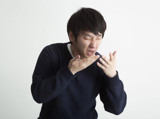 「咳・くしゃみをする際に手を添えない」の画像検索結果