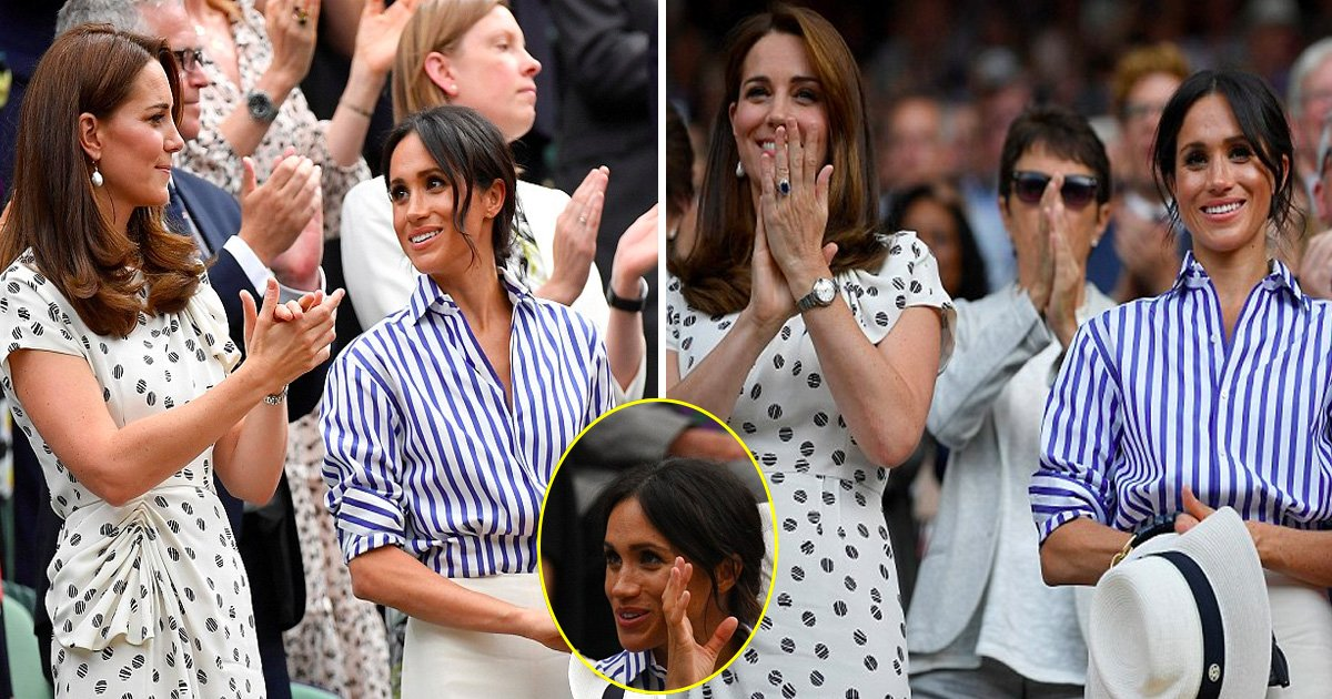 tata 1.jpg?resize=636,358 - Kate And Meghan Spotted Talking And Smiling As They Stepped Out For The Women's Finals At Wimbledon