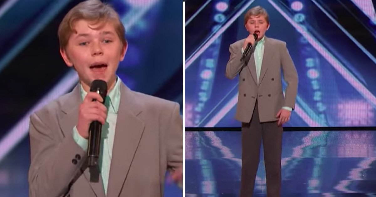 tatata.jpg?resize=412,232 - 13-Year-Old Boy Received Standing Ovation For Performing A Rap Original On America's Got Talent