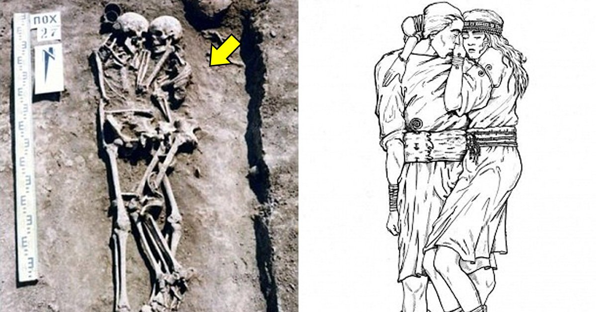 tatataaa.jpg?resize=636,358 - The Woman Who Chose To Be Buried Alive With Her Dead Husband Found Hugging And Sleeping With Him For 3000 Years In His Grave