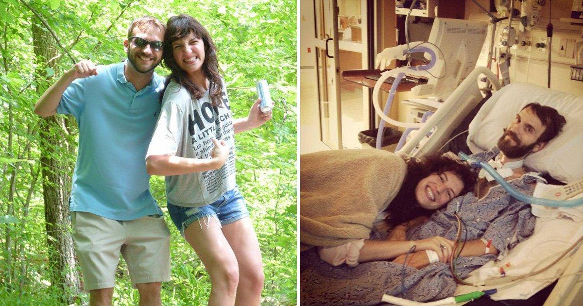 taww 1.jpg?resize=366,290 - Un homme a demandé sa petite amie en mariage deux jours après le diagnostic de sa SLA. Six ans plus tard, ils sont toujours aussi forts
