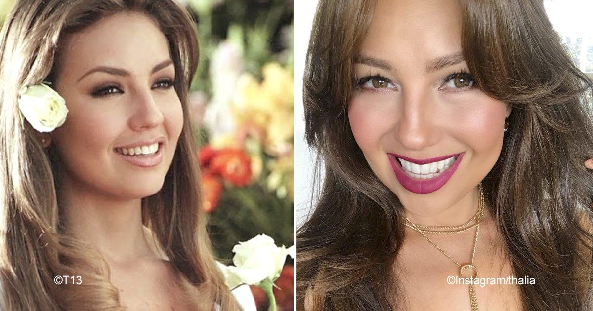 """tha.jpg?resize=300,169 - Thalía impacta en las redes sociales pues de manera simbólica recordó a su personaje de """"Rosalinda"""""""