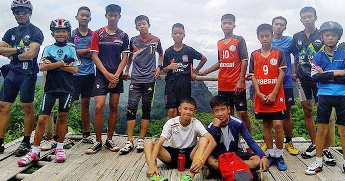 thai football team.jpg?resize=300,169 - Les garçons thaïlandais sauvés ne sont pas encore totalement sortis d'affaire