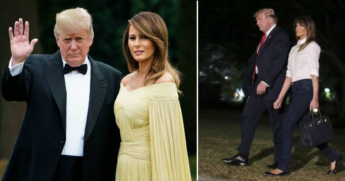 trump europe.jpg?resize=636,358 - Footage Of President Donald Trump And First Lady Melania Trump's Trip To Europe