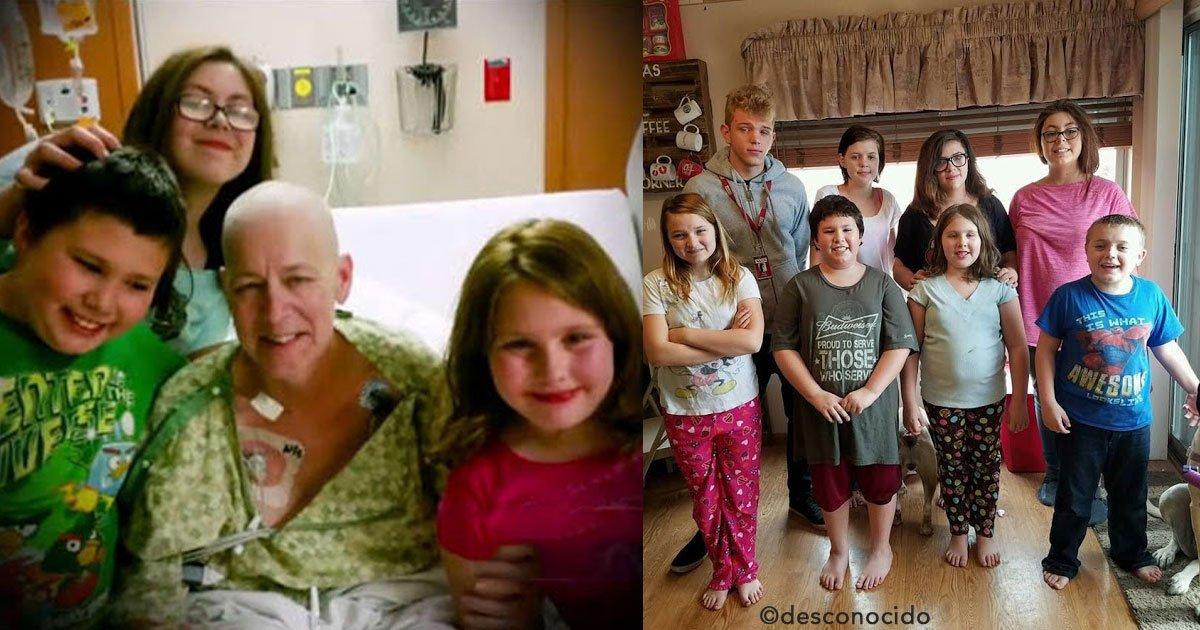 untitled 1 6.jpg?resize=300,169 - Su vecina falleció y decidió adoptar a sus tres hijos. Tiempo después ella le envía un regalo desde el cielo...