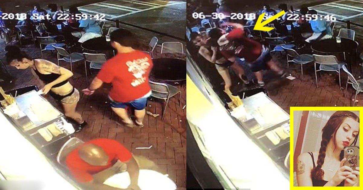 untitled 1 69 1.jpg?resize=412,232 - Une serveuse a frappé un client et appelé la police après qu'il lui ait mis une claque sur les fesses
