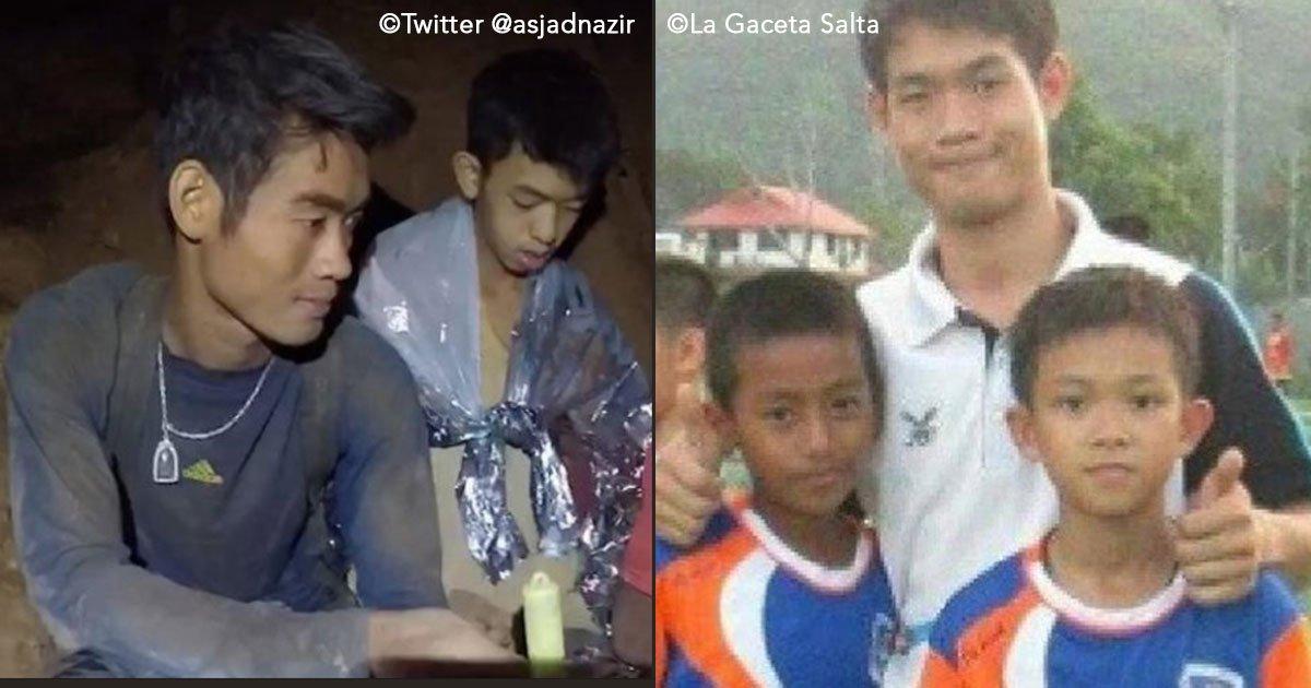 untitled 1 74.jpg?resize=412,232 - A vida difícil do treinador das crianças tailandesas presas na caverna: um monge budista que perdeu a família aos 10 anos...