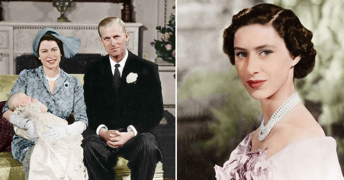 untitled 1 9.jpg?resize=636,358 - Royal Family's Black And White Pictures Have Been Colourised - From Princess Margaret To Princess Elizabeth, Everyone Looks Breathtakingly Beautiful
