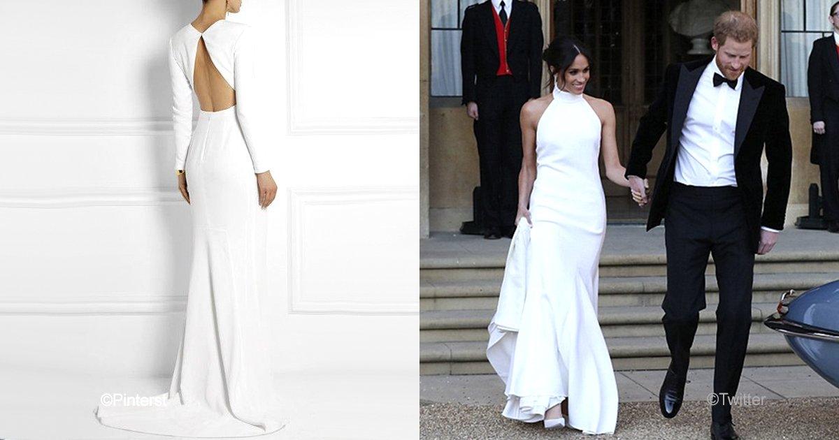 """vaagustar 6.jpg?resize=648,365 - ¿Estás pensando en gastar en algún lujo de princesa? El increíble vestido de Meghan Markle ahora """"está a la venta"""""""