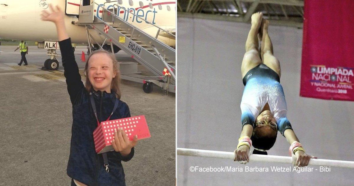 vivi.jpg?resize=300,169 - De nuevo se convirtió en campeona Mundial de Gimnasia, conoce la historia de esta niña mexicana con síndrome de Down